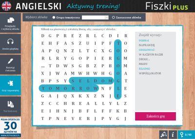 Angielski Fiszki PLUS Zwroty konwersacyjne dla początkujących - ćwiczenie 3