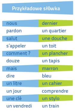 Francuski Fiszki PLUS dla początkujących 1 - kurs francuskiego