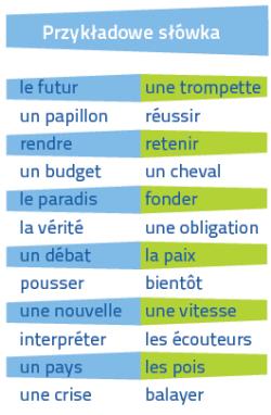 Francuski Fiszki PLUS dla początkujących 3 - kurs języka francuskiego