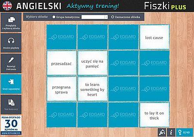 Angielski Fiszki PLUS Idiomy - ćwiczenie 3