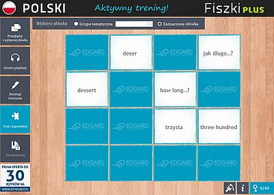 Fiszki PLUS Polish for foreigners - ćwiczenia