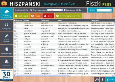 Hiszpański Fiszki PLUS dla średnio zaawansowanych 3 - zadania
