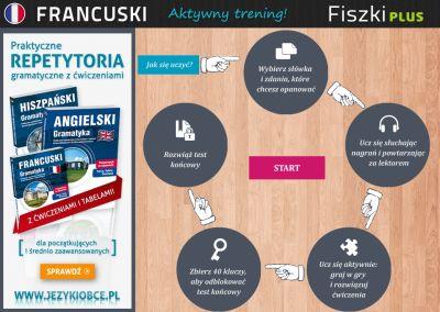 Francuski Fiszki PLUS dla średnio zaawansowanych 1  - lekcje