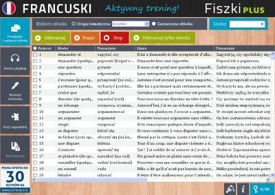 Francuski Fiszki PLUS dla średnio zaawansowanych 1 - zadania