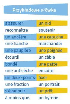 Francuski Fiszki PLUS dla średnio zaawansowanych 1  - francuski słówka nauka