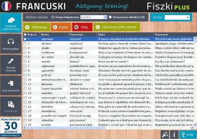 Francuski Fiszki PLUS dla średnio zaawansowanych 2 - zadania