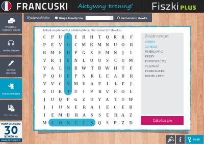Francuski Fiszki PLUS dla średnio zaawansowanych 3 - ćwiczenie 1