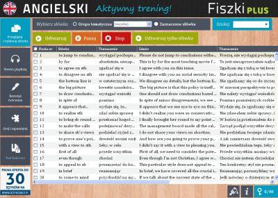 Angielski Fiszki PLUS Zwroty konwersacyjne dla zaawansowanych - ćwiczenie 1
