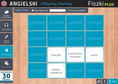 Angielski Fiszki PLUS Zwroty konwersacyjne dla zaawansowanych - ćwiczenie 3
