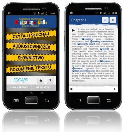 Angielski z kryminałem A Strange Pair - aplikacja mobilna - lekcje angielskiego