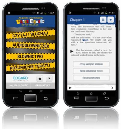 Angielski z kryminałem Pablo García - aplikacja mobilna - kurs języka angielskiego
