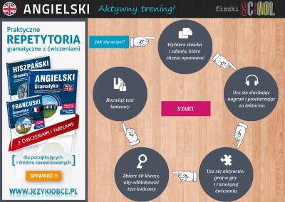 Angielski Fiszki SCHOOL Etap 2 Do you enjoy watching action films? - ćwiczenia angielskiego