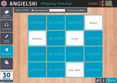 Angielski Fiszki SCHOOL Etap 2 Do you enjoy watching action films? - ćwiczenie 4