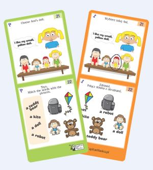 Kapitan Nauka. Zagadki obrazkowe. Angielski to ponad 100 zagadek dla dzieci w wieku 5-7 lat. Zagadki uczą języka angielskiego przez zabawę, rozwijają spostrzegawczość i pamięć wzrokową oraz stanowią świetną rozrywkę.