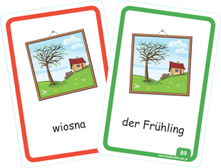 Kapitan Nauka Niemiecki dla dzieci 100 pierwszych słówek - nauka niemieckiego