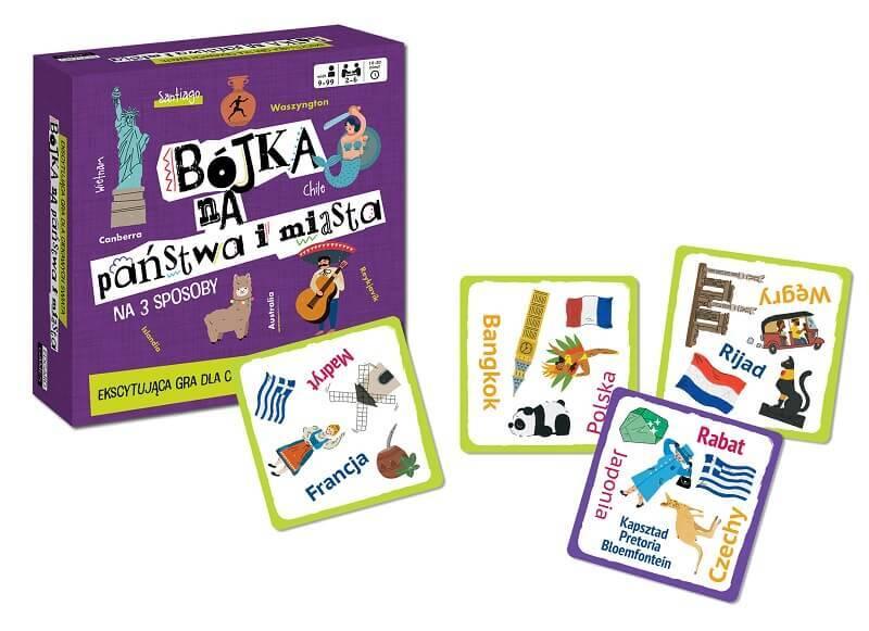 Bójka Państwa miasta - gra dla dzieci i młodzieży 9+