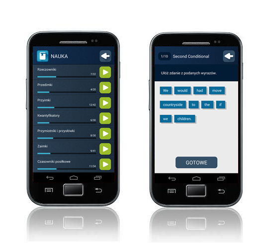 Angielski Gramatyka Aplikacja mobilna - nauka słówek angielski