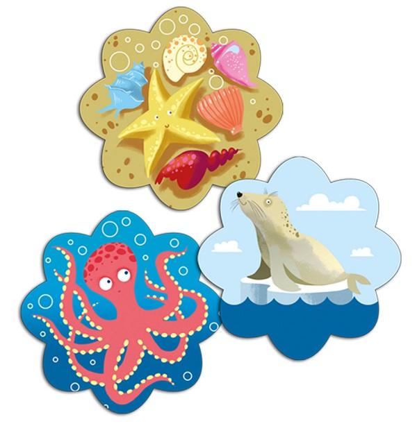 Ocean. Memory - gra dla dzieci w wieku 3+
