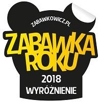 Wyróżnienie w IX edycji konkursu Zabawka Roku 2018