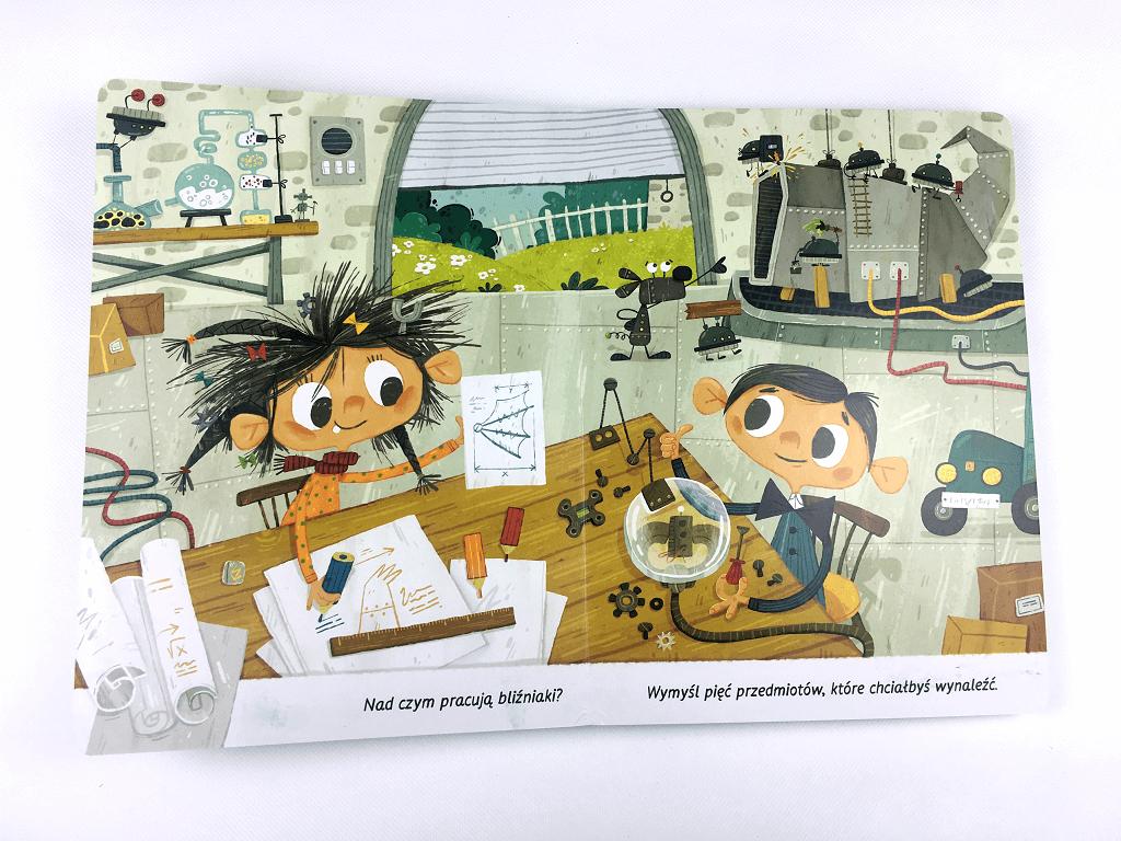 Mela i kostek Kapitan nauka - książeczka dla dzieci