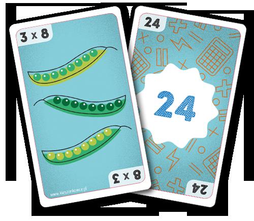 karty do kieszonkowca matematycznego mnożenie Trzy po trzy