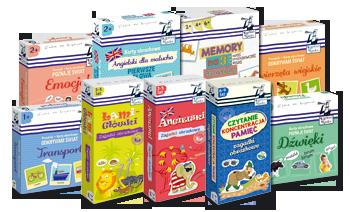 Kapitan Nauka - zabawy dla dzieci, gry planszowe, puzzle, układanki, katy obrazkowe, angielski dla dzieci