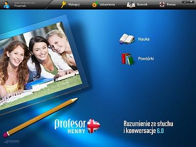 Profesor Henry 6.0 MEGAPAKIET to multimedialny kurs języka angielskiego - od podstaw do poziomu średnio zaawansowanego (A1-C2). Kurs zapewnia trening wszystkich umiejętności językowych oraz ułatwia naukę słownictwa i gramatyki. Materiał kursu zawiera filmy i nagrania w języku angielskim.