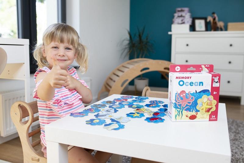 Memory - gra na spostrzegawczość dla dzieci