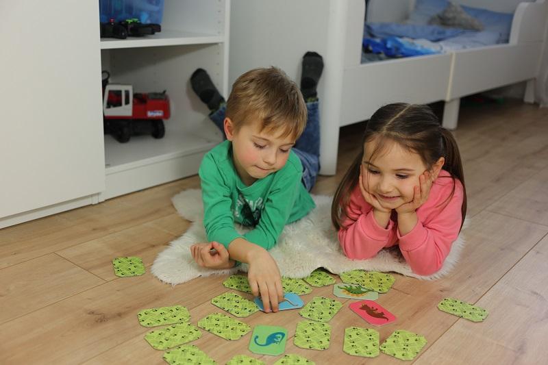 Gra dla dzieci Memory. Trening pamięci i koncentracji