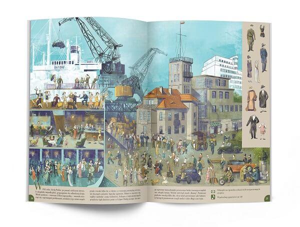 Polska. Na tropie historii - wielkoformatowa książka dla dzieci