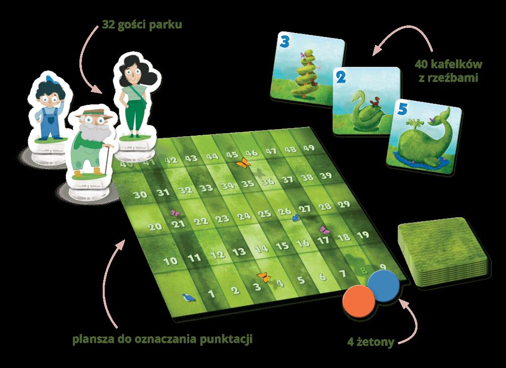 Sprytni ogrodnicy - gra planszowa dla całej rodziny