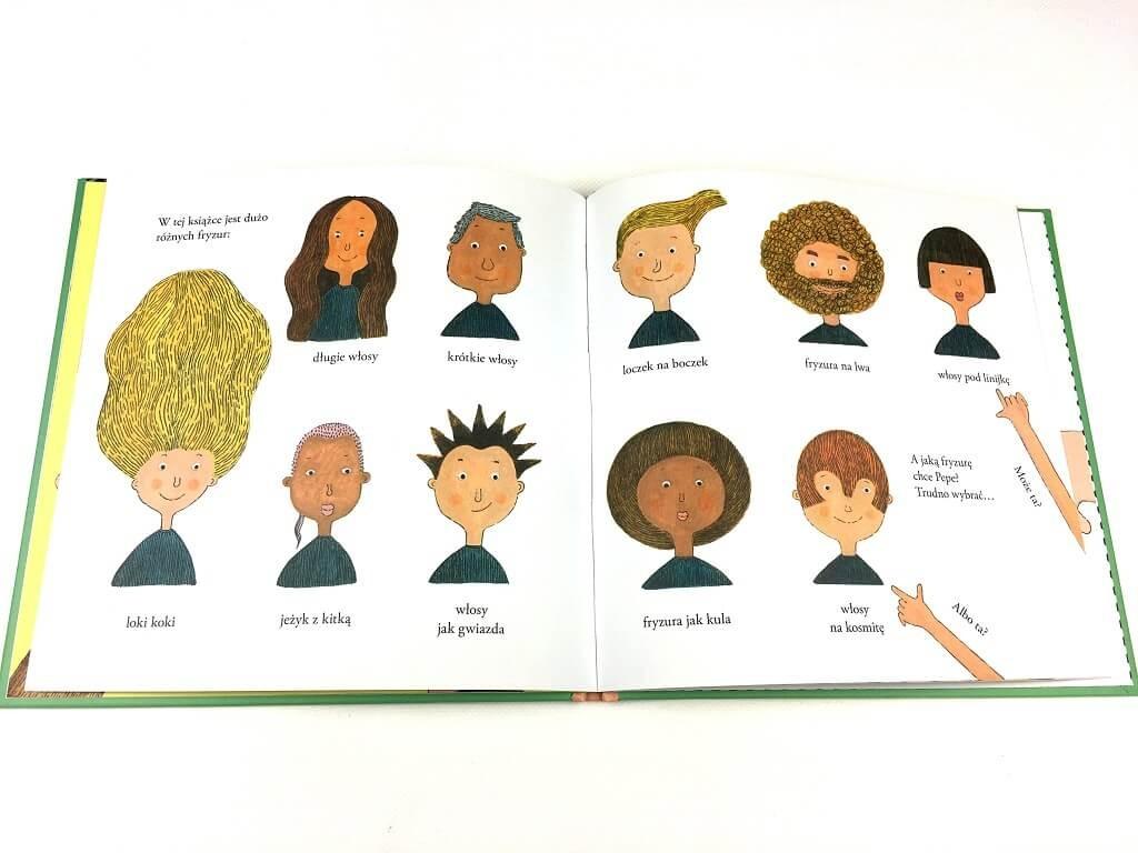pepe idzie do fryzjera - książka dla dzieci