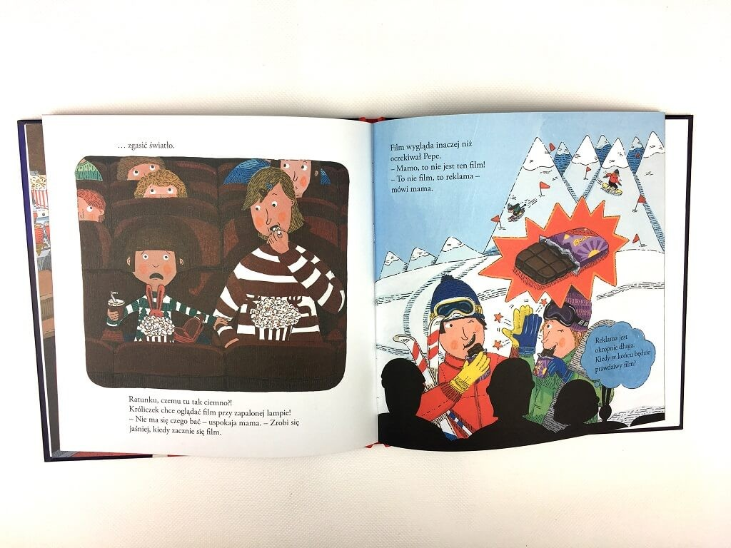 pepe leci samolotem- książka dla dzieci 3-6 lat
