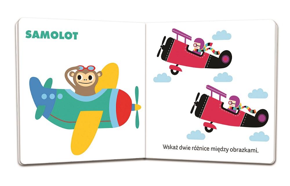 Pojazdy. Maluch poznaje - książeczka dla dzieci w wieku 1-3 lata