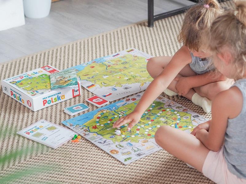 Polska - gra edukacyjna dla dzieci od 5 roku życia