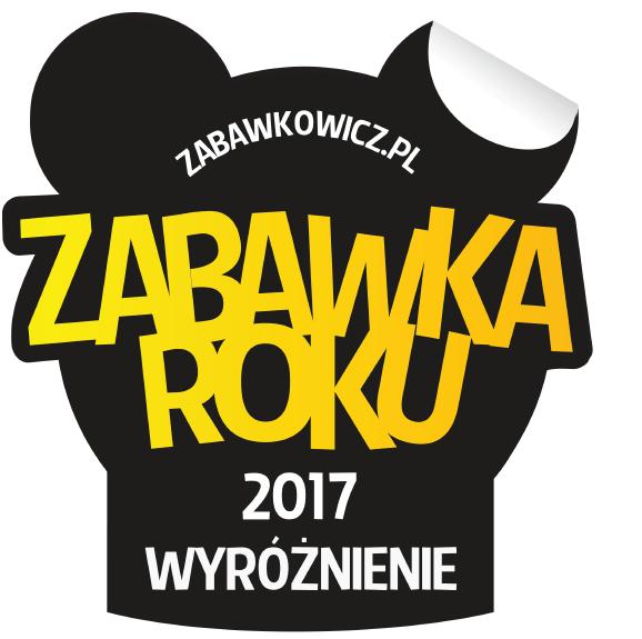 Wyróżnienie w VIII edycji konkursu Zabawka Roku 2017